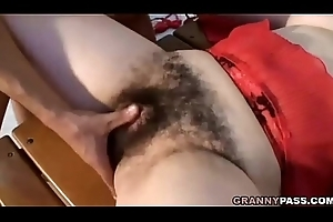 Granny Here Extremely Puristic Bawdy cleft Receives Drilled