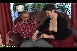 incredible deepthroat with flimsy milf