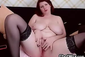 Intoxicating Matured BBW Nymphomaniac