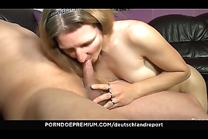DEUTSCHLAND REPORT - Lively tax bleeding on naughty mature cock-teaser