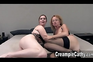 Sloppy Team fuck Creampies