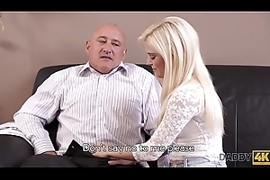DADDY4K. Sweltering blondie wants almost strive someone little command on touching patriarch