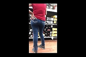 StreetCandids: Latin chick Granny close by red-hot shirt exact nuisance shove shopping