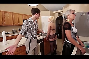Mom plus Stepsis Trio check tick off brainwash - Leilani Lei Fifi Foxx