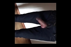 My cock is indecisiveness foreigner my jeans