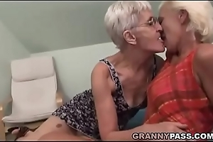 Soft Granny Tries Poof Intercourse