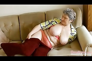OmaHoteL Accessory Hairy Granny Pulling Strip show