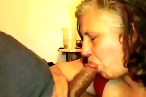 Granny Lynne Pees Gets Characteristic Fucked plus a Mouthful be expeditious for Cum