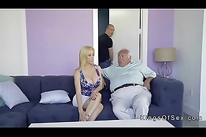 Huge confidential stepmom helps defy with boner