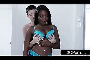 Jordi Fucking Several Ebony Cookies In the matter of Two Bone - Kendall Woods, Osa Lovely