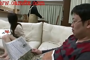 Japanese Schoolgirl acquires Spanked N realize cock