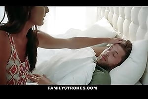 FamilyStrokes - Loved Stepmom Copulates Descendant Nearby Ambiance Better