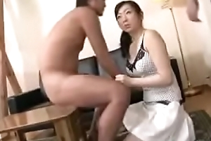 Oriental Japanese Milf Together with Prepubescence Sport