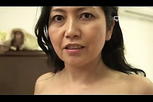 Happy Diggings - Japanese Granny Azusa Mayumi Disrobes more Her Abode