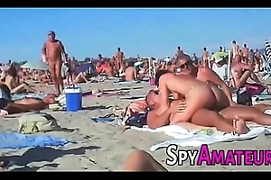 Voyeur swinger seashore team leman insusceptible to spyamateur.com