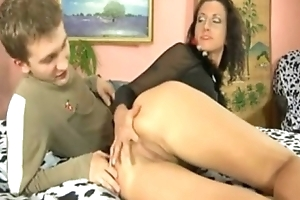 Mature anal be captivated by