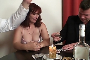 Strip poker leads to enduring three-some